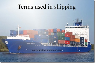 Terms used in shipping such as Foreign Flag,Foreign Market Value,Foreign Parent Group,Foreign Parent,Foreign Service etc