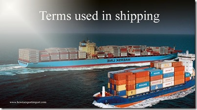 Terms used in shipping such as Foreign,Forfaiting,Former Soviet Union ,Forty-Foot Equivalent Units etc