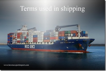 Terms used in shipping such as Hearing,Hire Statement ,Hi-lo,Hitchment,Home,hold cleaning,hold  etc