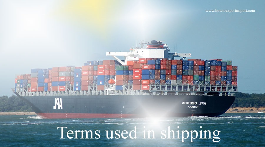 Terms Used In Shipping Such As Interchange Points Interchange