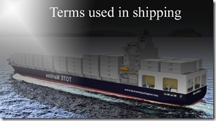 Terms used in shipping such as Mercosur, merchant , Mercantile marine,Microbridge,Mini-Bridge,Mini Landbridge,Minimum Charge etc