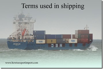 Terms used in shipping such as Non-Tariff Measures ,Nordic Investment Bank,Nordic Council,Norske Veritas etc