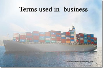 Terms used in  business such as Facility,Facsimile machine ,Factor,Fallen Angel,False Bottom,Fairy Dust etc