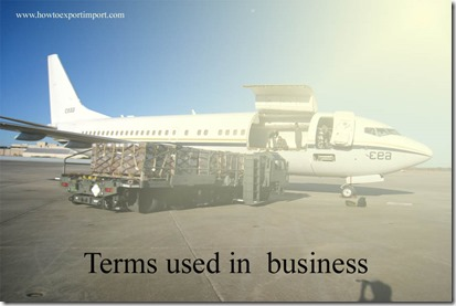 Terms used in  business such as International Toll Free Service,Intervention Price, Intrinsic Value , Inventory,