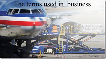 The terms used in  business such as Sales Conference,Sales Tax,Sales Mix, Sabbatical, Salvage etc