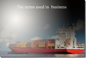 The terms used in  business such as Wow Factor,Writ Of Execution,Write-Protect,World Trade Organisation  etc