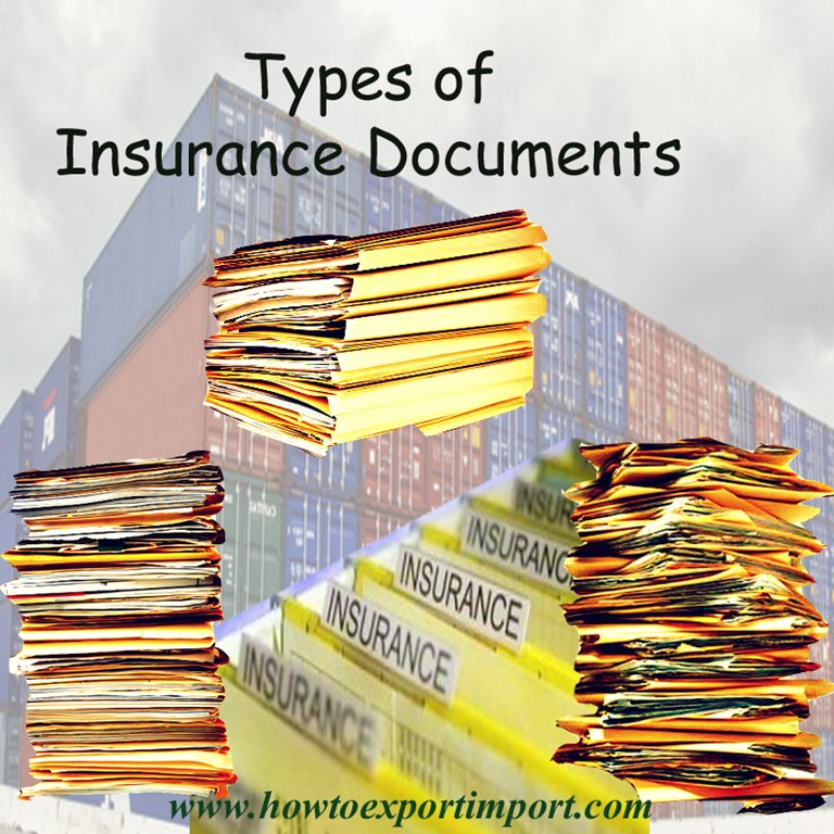 Types Of Insurance Documents