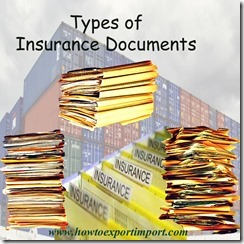 Types of Insurance Documents copy