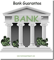 What is Bank Guarantee to customs in Import copy