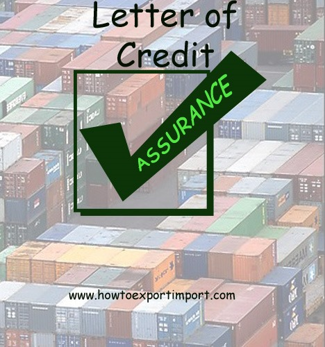 What is LC Letter of Credit in export import business