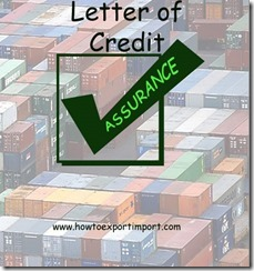What is LC Letter of Credit in export import business copy