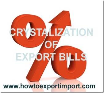 crystalization of export bills