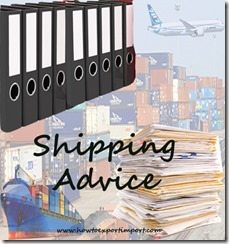 How to prepare Shipping Advice in Export Import Trade copy