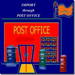 What is the Procedure for importing goods through Post offices in India copy