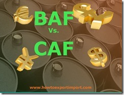 What is the difference between BAF and CAF copy