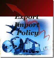Foreign Trade Policy1