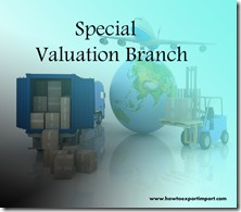Special valuation branch
