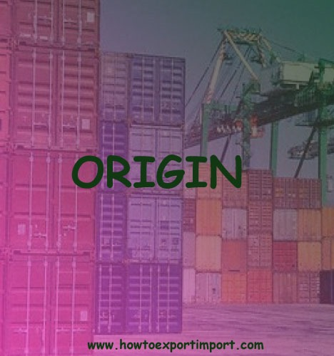 Why need Certificate of Origin