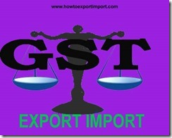 Zero rate of GST on Any services provided by a training partner approved by NSDC
