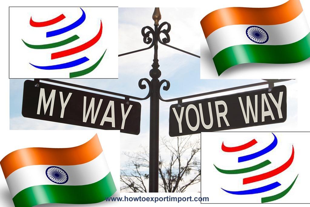 Trade Facilitation Agreement Tfa And India