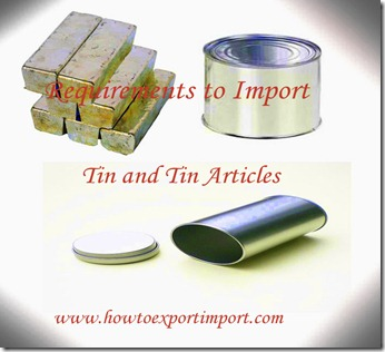 80 tin and tin articles