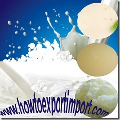 Importation of Milk, Cream,Buttermilk,Curdled Milk, Yogurt,Kephir,Whey, Diary spreads, Cheese,Curd