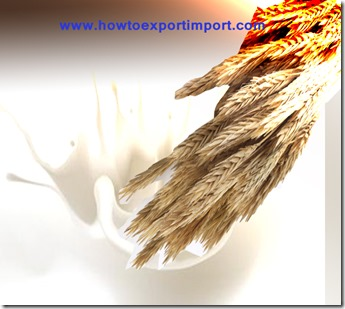 Import of Cereals,flours,starch or milk