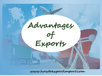 Export Financial benefits, Export incentives and supports