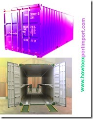 Difference between standard container and car carrier container
