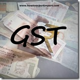 GST levied rate on purchase or sale of Pulley tackle and hoists