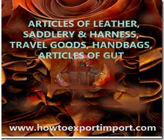 42 articles of leather,saddle