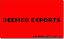 Difference between Deemed exporters 3