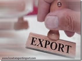 EGM (Export General Manifest)