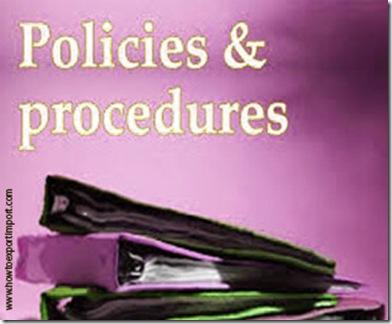 Import customs clearance procedures