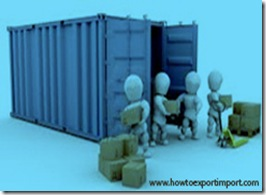 What is stuffing and de-stuffing in export import trade